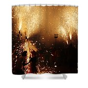 Sparked Shower Curtain