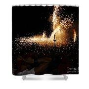 Sparkling Shower Curtain