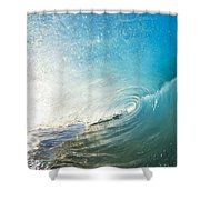 Sparkling Wave IIi Shower Curtain