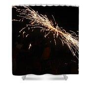 Sparks Disco Shower Curtain