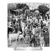 Sparta Greece - Street Scene - C 1907 Shower Curtain