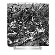 Spartacus (d.71 B.c.) Shower Curtain