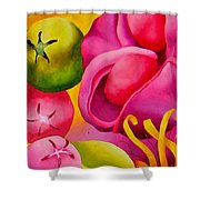 Spatterdock - Panel 2 Of 3 Shower Curtain