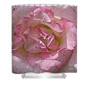 Spattered Pink Promises Shower Curtain