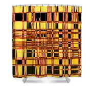 Speak To Me - Abstract Art Shower Curtain