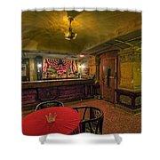Speakeasy Club -- Butte Montana Shower Curtain