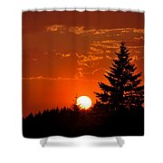Spectacular Sunset II Shower Curtain