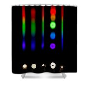 Spectra Of Energy Efficient Lights Shower Curtain