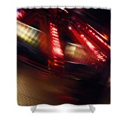 Speed Futures Shower Curtain