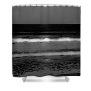 Spell Binding Tides Shower Curtain