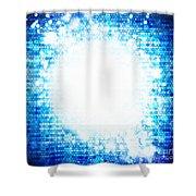 Sphere Energy Shower Curtain