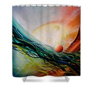 Sphere Gl2 Shower Curtain