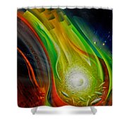 Sphere Q72xl                 Shower Curtain