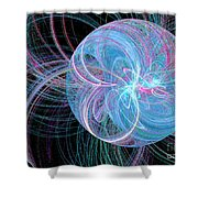 Spherical Symphony Shower Curtain