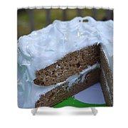 Spice Cake Shower Curtain
