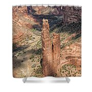 Spider Rock - Canyon De Chelly Shower Curtain