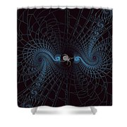 Spiders Lair Shower Curtain