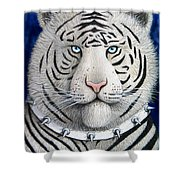 Spike The Tiger Shower Curtain