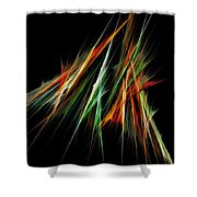 Spiked Shower Curtain