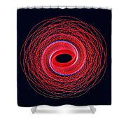 Spiral Abstract 24 Shower Curtain