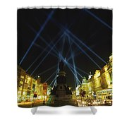 Spire Of Dublin, Oconnell Street Shower Curtain