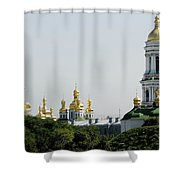 Spires Of Church Shower Curtain