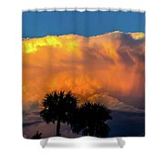 Spirit In The Clouds Shower Curtain by Shannon Harrington