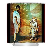 Spirit Of Freedom - Soldier And Son Shower Curtain