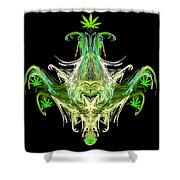 Spirit Of The Leaf Shower Curtain