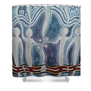Spirit Watchers  Shower Curtain