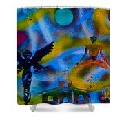 Spirit World Shower Curtain