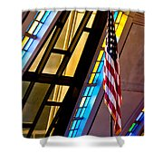 Spiritual Freedom Shower Curtain