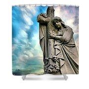 Spiritual Healing Shower Curtain