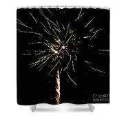 Spirograph Shower Curtain