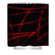 Spirogyra Sp. Algae Lm Shower Curtain