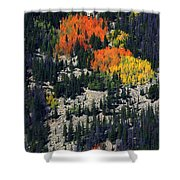Splashes Of Fall Shower Curtain