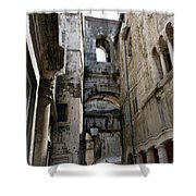 Split Croatia's Old Town Shower Curtain