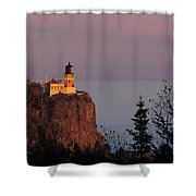 Split Rock Lightghouse - Fs000635 Shower Curtain