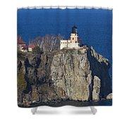 Split Rock Lighthouse 76 Shower Curtain