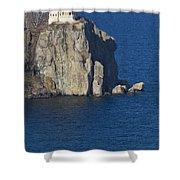 Split Rock Lighthouse 77 Shower Curtain