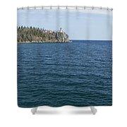 Split Rock Lighthouse 80 Shower Curtain