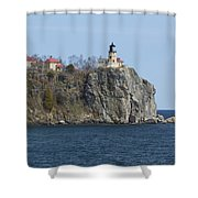Split Rock Lighthouse 83 Shower Curtain