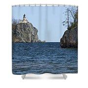 Split Rock Lighthouse 87 Shower Curtain