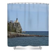 Split Rock Lighthouse 91 Shower Curtain