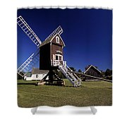 Spocott Windmill Shower Curtain