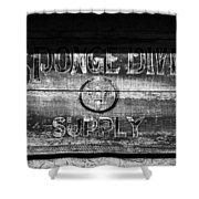 Sponge Diver Supply Shower Curtain