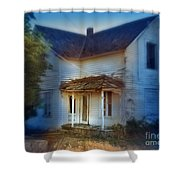 Spooky Old House Shower Curtain