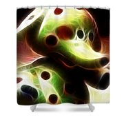Spotted Elephant Shower Curtain