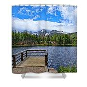 Sprague Lake Shower Curtain