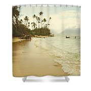 Sprecks Beach Shower Curtain